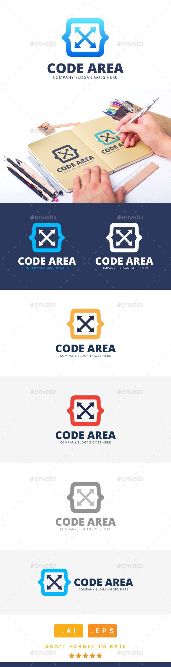 GraphicRiver Code Area Logo 11279814