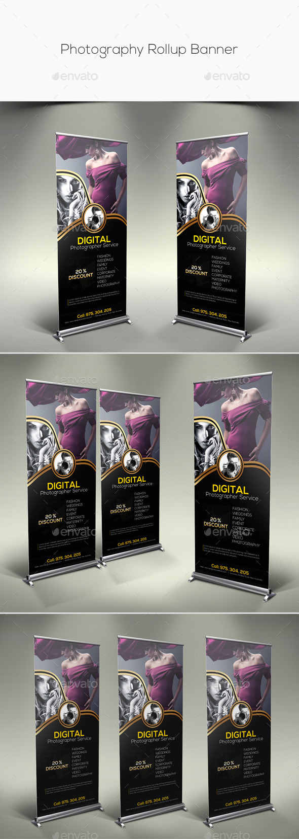 GraphicRiver Photography Rollup Banner 11279831
