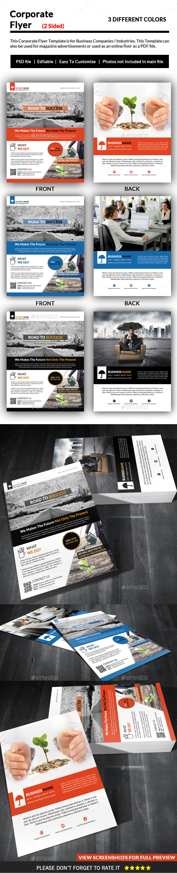GraphicRiver Corporate Flyer 11279890