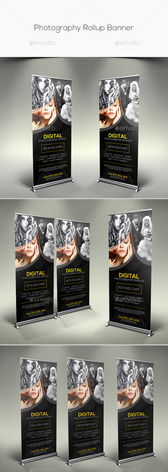 GraphicRiver Photography Rollup Banner 11279958