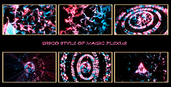 Disco Style of Magic Plexus