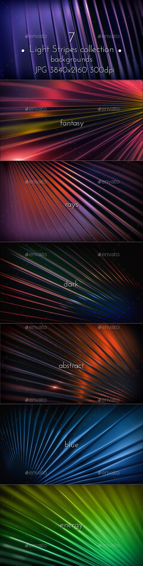 GraphicRiver Light Stripes Background 11280199
