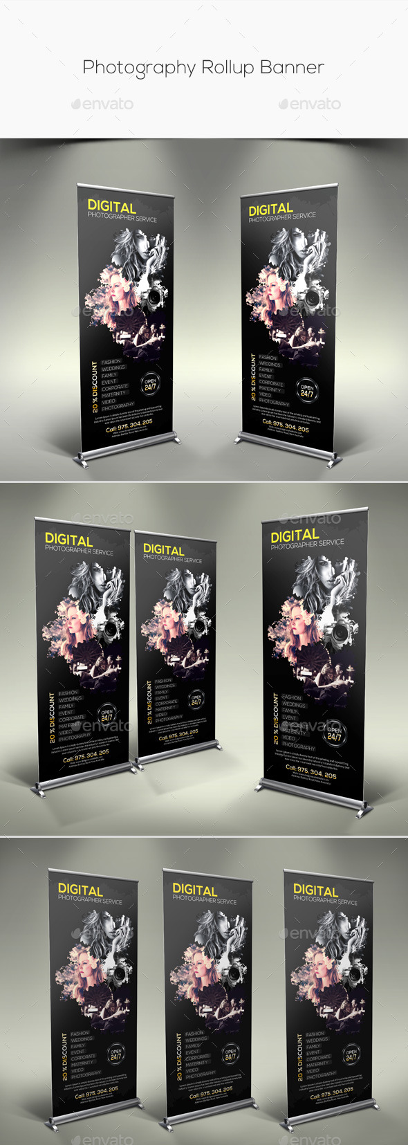 GraphicRiver Photography Rollup Banner 11280238