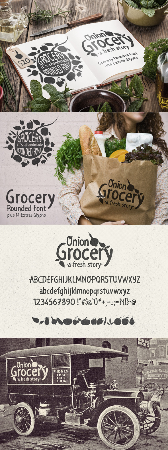 GraphicRiver Grocery Rounded Font 11280705