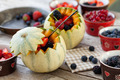 French Melons Filled With Berries - PhotoDune Item for Sale