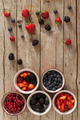 Red Fruits In Ceramic Bowls - PhotoDune Item for Sale