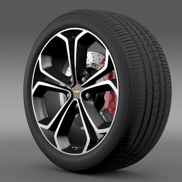 Chevrolet Volt Z spec concept wheel - 3DOcean Item for Sale