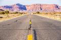 descending into Monument Valley at Utah  Arizona border - PhotoDune Item for Sale