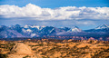 canyon badlands and colorado rockies lanadscape - PhotoDune Item for Sale