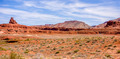 mexican hat rock monument landscape on sunny day - PhotoDune Item for Sale