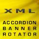 XML Accordion Banner Rotator - ActiveDen Item for Sale