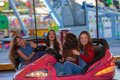 group of kids at funfair or fairground - PhotoDune Item for Sale