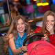 teens at fun fair riding dodgems - PhotoDune Item for Sale