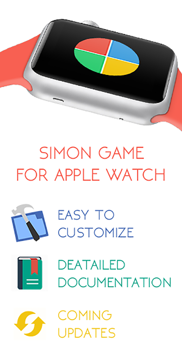 CodeCanyon SImon Game Apple Watch App 11248984