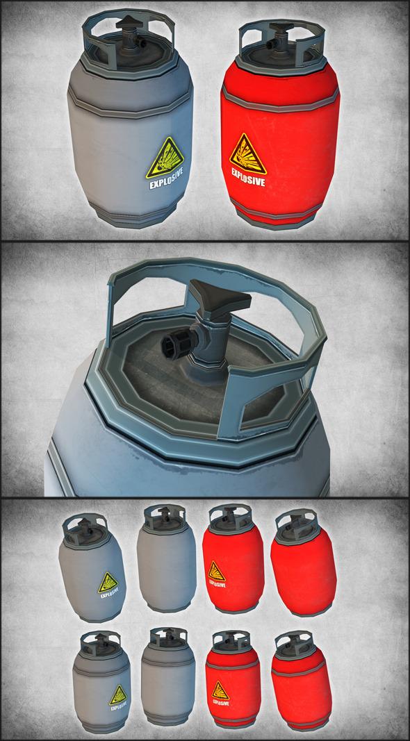 3DOcean Propane Tanks 11281687