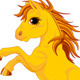 Yellow Horse - GraphicRiver Item for Sale