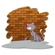 Cat Waiting for the Rat - GraphicRiver Item for Sale