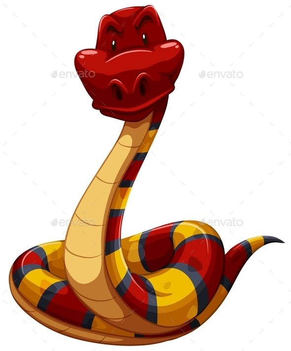 GraphicRiver Colourful Snake 11281938