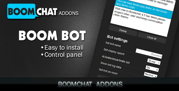 CodeCanyon Boombot addon for Boomchat PHP AJAX chat 11281995