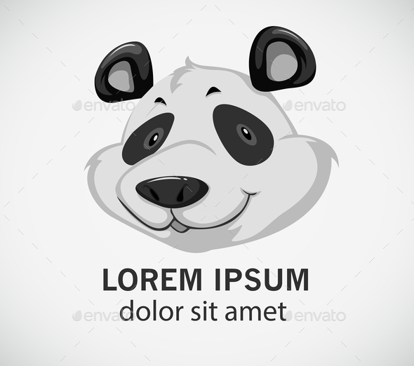 GraphicRiver Head of a Panda 11282050