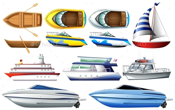 GraphicRiver Boats 11283121