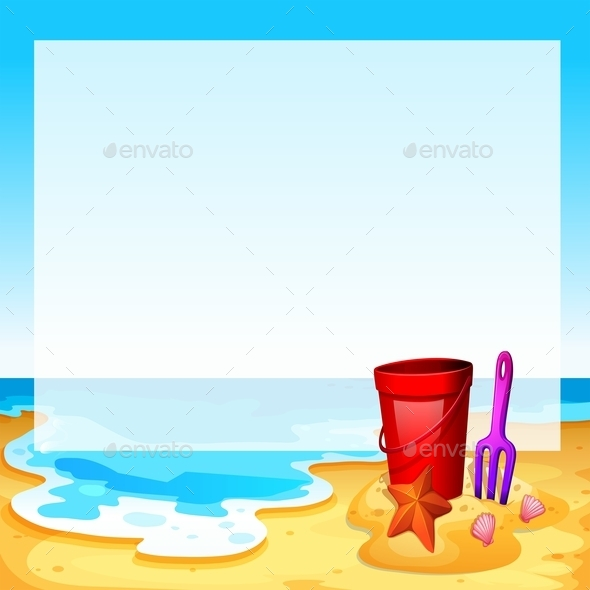 GraphicRiver View of the Beach 11283312