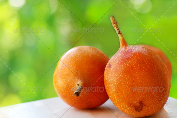 Granadilla fruit - Stock Photo - Images