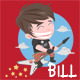Cartoon Character - Bill - GraphicRiver Item for Sale