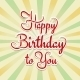 Happy Birthday To You - GraphicRiver Item for Sale