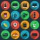 Gadget Flat Icons - GraphicRiver Item for Sale