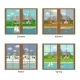 Vector Window In Different Season - GraphicRiver Item for Sale