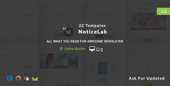 ThemeForest NoticeLab Email Notification Templates 11206331