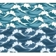 Waves Seamless Pattern - GraphicRiver Item for Sale