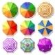 Beach Umbrellas - GraphicRiver Item for Sale