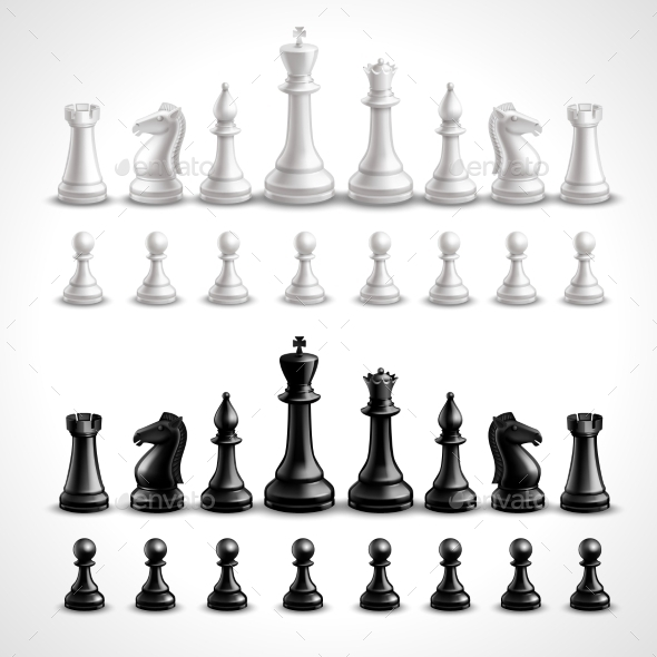 GraphicRiver Realistic Chess Figures 11284717