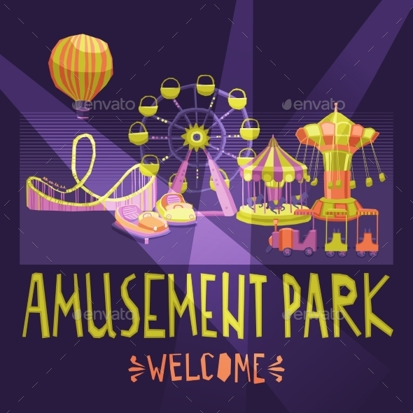 GraphicRiver Amusement Park Poster 11284727