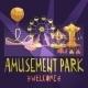 Amusement Park Poster - GraphicRiver Item for Sale