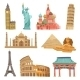 World Landmarks Set - GraphicRiver Item for Sale
