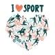 Love Sport Concept - GraphicRiver Item for Sale