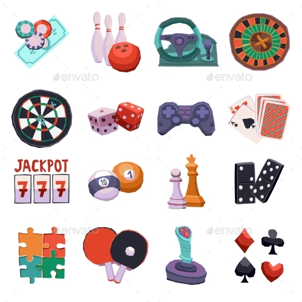 GraphicRiver Game Icons Set 11284751