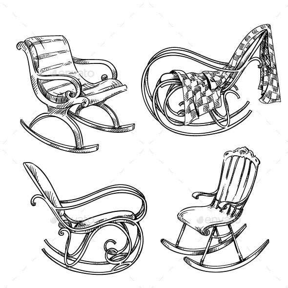 GraphicRiver Rocking Chairs 11284761