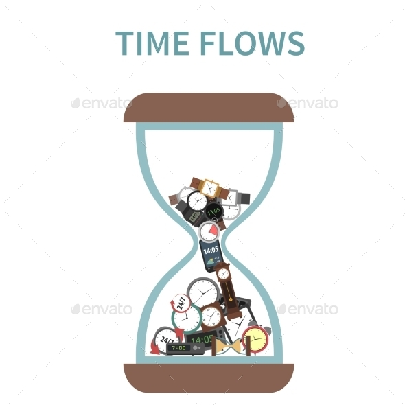 GraphicRiver Time Flows Concept 11284810