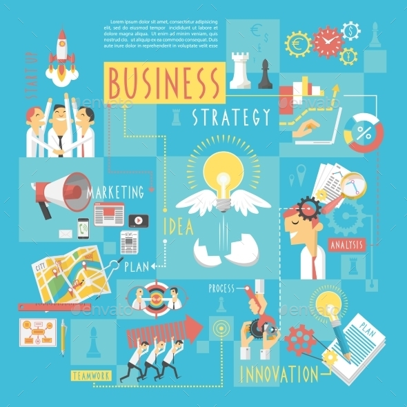 GraphicRiver Business Concept Infographic Elements Poster 11284814