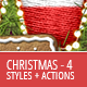 Christmas And Winter Styles And Actions 4 - GraphicRiver Item for Sale