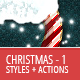 Christmas And Winter Styles + Actions - GraphicRiver Item for Sale