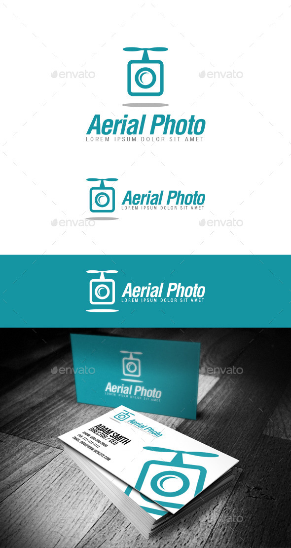 GraphicRiver Aerial Photo Logo 11284822