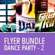 Dance Party Flyer Bundle - GraphicRiver Item for Sale