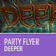 Deeper Flyer Template - GraphicRiver Item for Sale