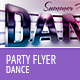 Dance Party Flyer Template - GraphicRiver Item for Sale