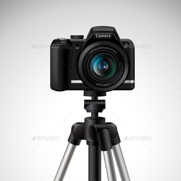 GraphicRiver Camera On Tripod 11285098